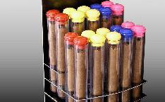 Heaven Cigars display and cigar tubes
